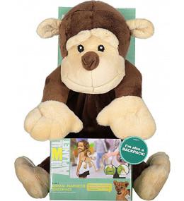 KINDMO KIDS - Mochila com Alça para Controle Macaco Animal Planet