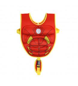 KINDMO KIDS - Colete de Natação Infantil Homem de Ferro Marvel