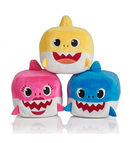 Kit Mini Pelúcia Musical Baby Shark - KINDMO KIDS