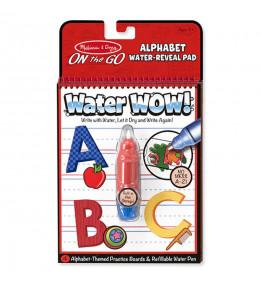 KINDMO KIDS - Livro de Atividades Mágico com Caneta de Água - Alfabeto
