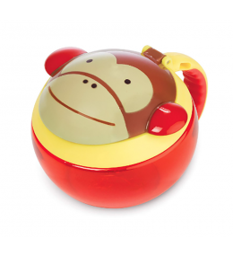 Pote Petisco Macaco Skip Hop - KINDMO KIDS