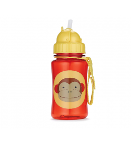 Garrafa com canudo - Macaco - Skip Hop - KINDMO KIDS