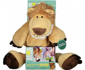 Mochila com Alça para Controle Leão Animal Planet