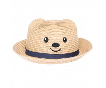 Chapéu de Palha Baby Urso
