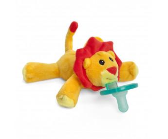 WubbaNub Little Lion - Chupeta com leão de pelúcia