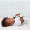 KINDMO KIDS - Kit Chocalhos Pulsos e Pés Bebê