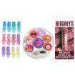 KINDMO KIDS - Kit de Beleza com Esmaltes Protetor Labial Gloss Colorido e Tiara Unicórnio