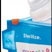 KINDMO KIDS - Kit de Sacos Reutilizáveis Para Esterilizar Munchkin fecho